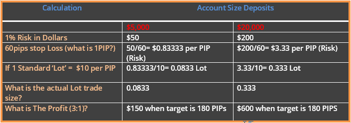 What is standard account in forex